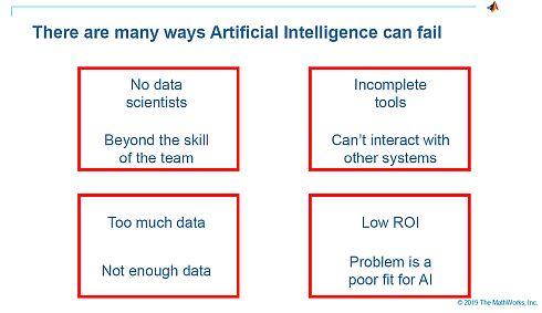 AIの開発プロジェクトが失敗する4つの原因