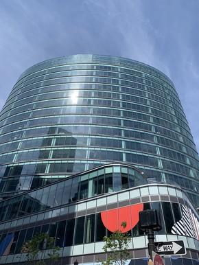 ボストン郊外のニーダムからボストン中心市街のシーポート地区に本社を移転したPTC