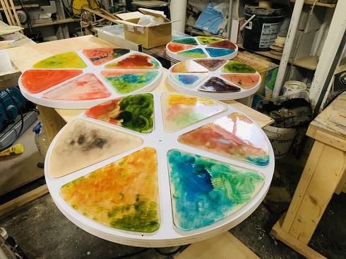 アートシンキングでのモノづくりが体感できるモバイルハウスの製作過程