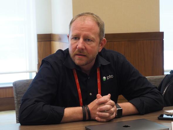 PTC AR製品担当 エグゼクティブバイスプレジデントのマイク・キャンベル(Mike Campbell)氏