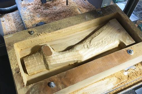 エジプトのベッド脚の複製