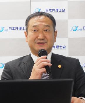 日本弁理士会意匠委員会 委員長の布施哲也氏