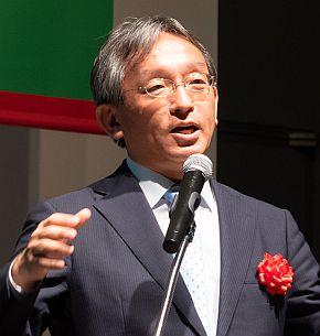 コマツの浅田寿士氏