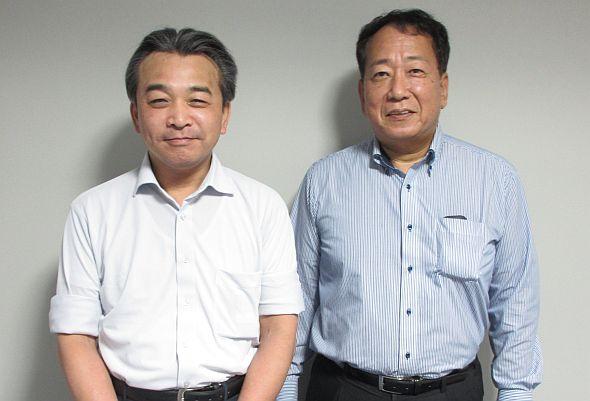 朝倉辰伸氏と田中恵介氏