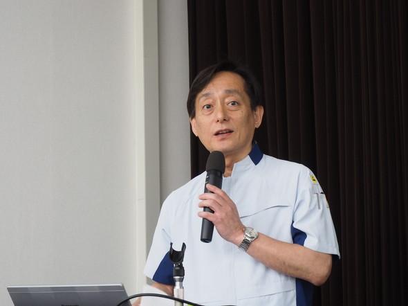 パナソニック CNS社 モバイルソリューション事業部 神戸工場 工場長の清水実氏