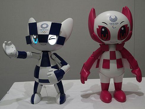 東京2020大会のマスコットロボット