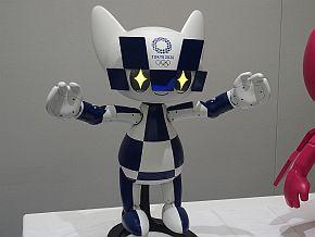 マスコットロボットは表情や動き