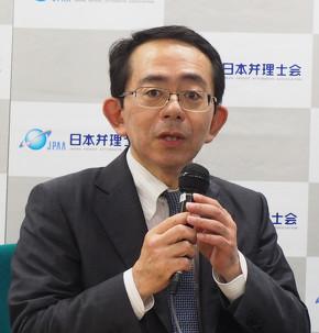 日本弁理士会 特許委員会 副委員長の中尾直樹氏