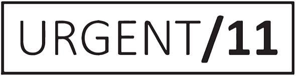 「URGENT/11」のロゴ
