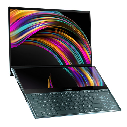 ASUSのデュアルディスプレイ搭載ノートPC「ZenBook Pro Duo」