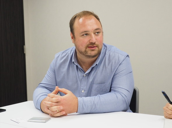 Formlabs 最高製品責任者のDavid Lakatos(デビッド・ラカトス)氏