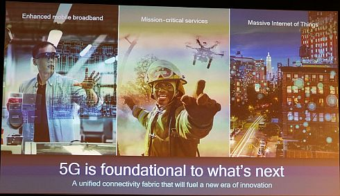 5Gはスマートフォンだけでなくさまざまな産業分野で用いられるようになる