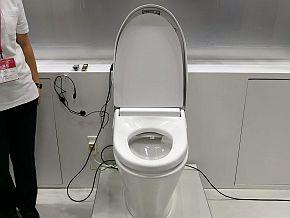 「トイレからのお便り」の展示