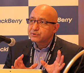 BlackBerry Technology Solutionsのケイヴァン・カリミ氏