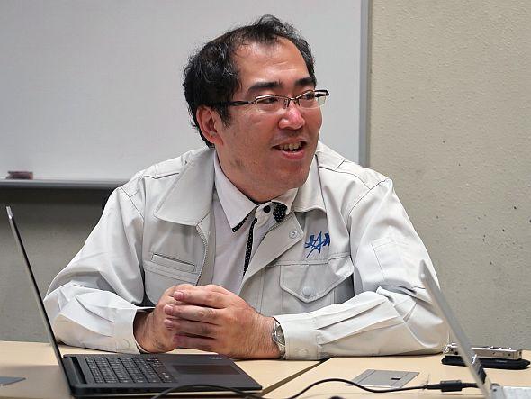 JAXAの西山和孝氏
