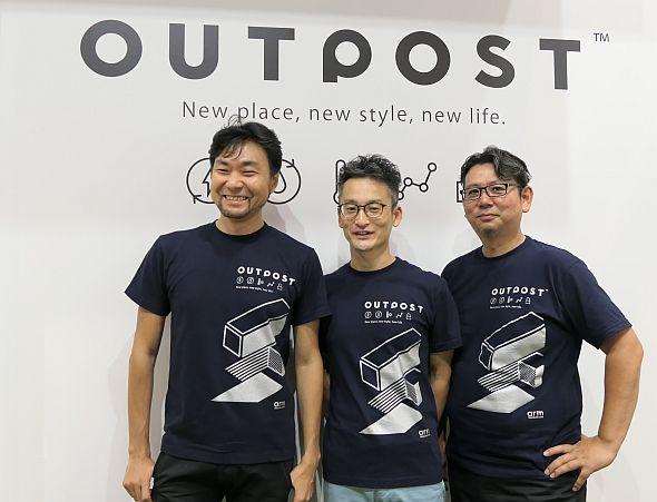 左から、エムテドの田子學氏、トレジャーデータの堀内健后氏、日南の猿渡義市氏