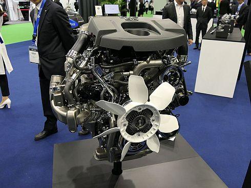 「グランエース」に採用された「GDエンジン」