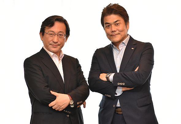 野村総合研究所の藤野直明氏と富士通の瀧澤健氏