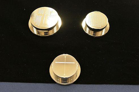 ガラスモールド工法でマイクロ化学チップを量産するための金型