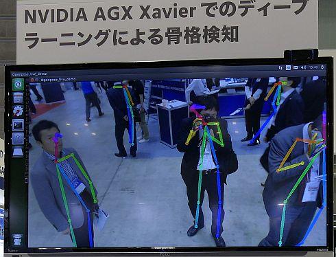 「Jetson AGX Xavier」とアエティナのキャリアボードを使ったAIデモ