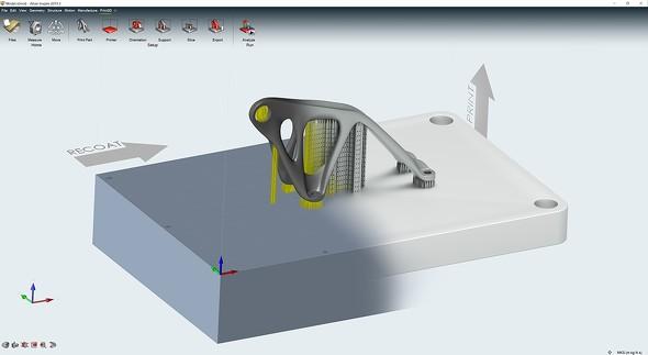積層造形向け製造シミュレーションソリューション「Inspire Print3D」