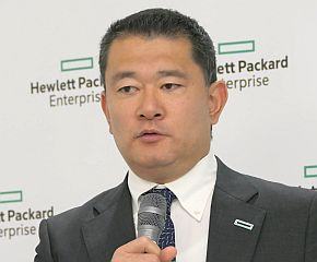 日本HPEの五十嵐毅氏