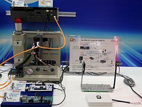 図研エルミックのCC-Link IE TSNのデモ