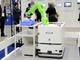 協働ロボット搭載AGV、自律走行でも磁気誘導でも対応可能なハイブリッド型