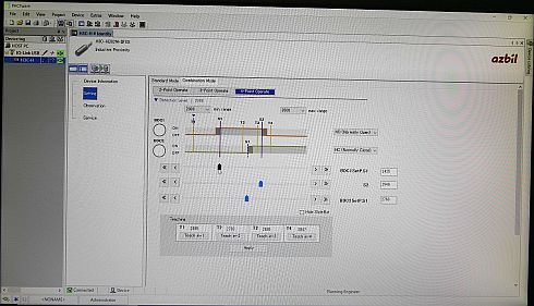 「H3C」のPCローダ画面