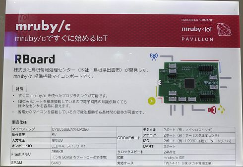 「RBoard」の概要
