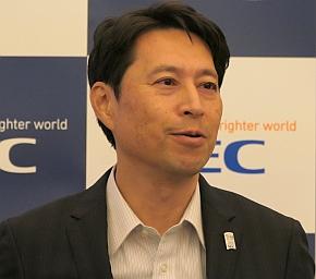 NECの渡辺望氏