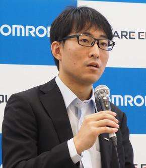 オムロン 技術・知財本部 研究開発センター 無線・組込研究室 主査の八瀬哲志氏