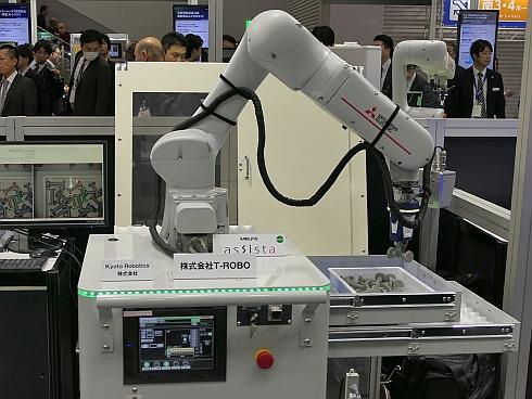 三菱電機が開発中の協働ロボット「MELFA ASSISTA」