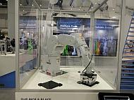 エプソンのロボットを使ったデモ