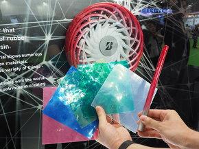ブリヂストンが開発した新素材「SUSYM」を用いた3Dプリント製コンセプトタイヤ