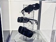 「CES 2020」における眼鏡型VRグラスの展示