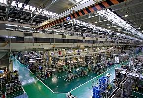 制御装置生産ライン