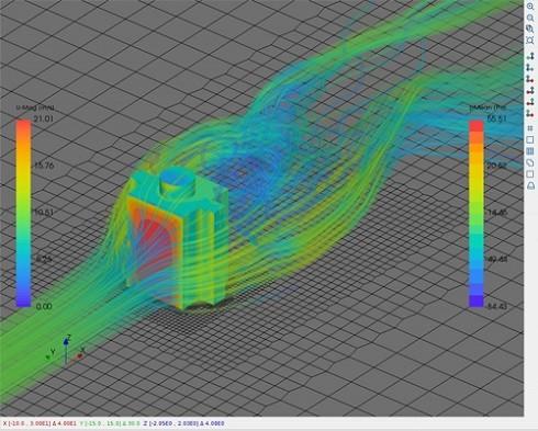 「View Tab」による流線の可視化機能
