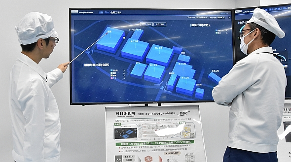 N-1工場内で活用されている「Intelligent Dashboard」