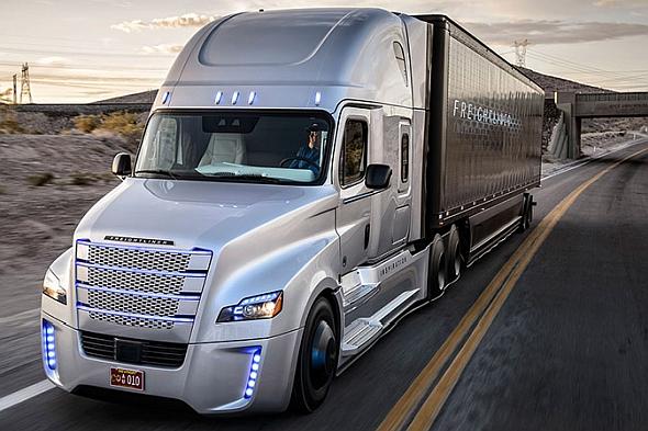 ダイムラーの自動運転トラック「Freightliner Inspiration」