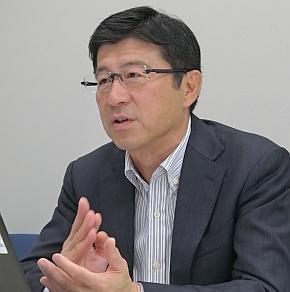 JasPar 運営委員長の橋本寛氏