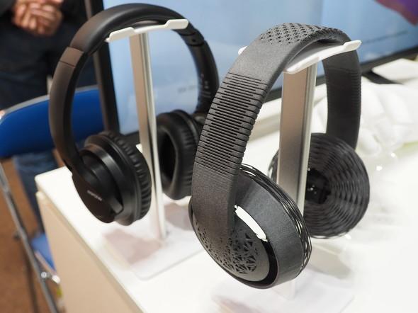 DFMの活用イメージとして紹介されたヘッドフォン