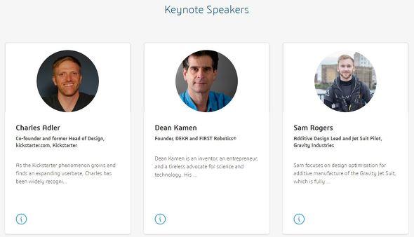 「3DEXPERIENCE World 2020」の基調講演に登壇するゲスト