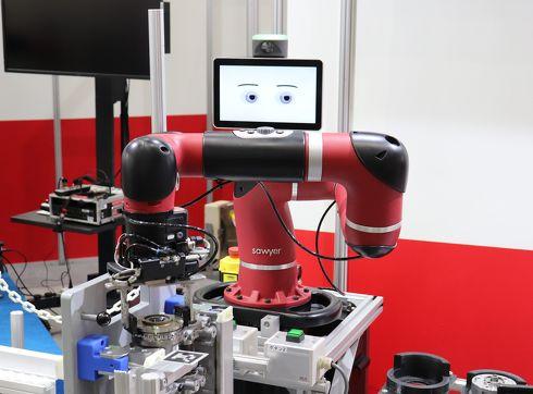 米ベンチャーのRethink Roboticsが開発した「Sawyer」[クリックして拡大]