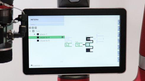 Webブラウザを用いたGUIベースの画面で複雑な作業内容を設定できる[クリックして拡大]