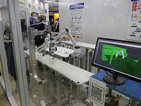 日本電産が開発した産業用ロボット