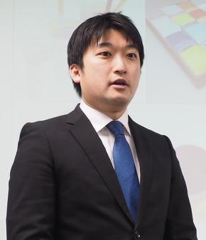 ストラタシス・ジャパン ノースアジア プロダクト&ソリューション部 シニアセールス アプリケーション エンジニアの小林俊亮氏