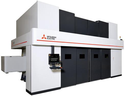 3次元ファイバーレーザー加工機「ML4020FV1-F40」(クリックで拡大) 出典:三菱電機