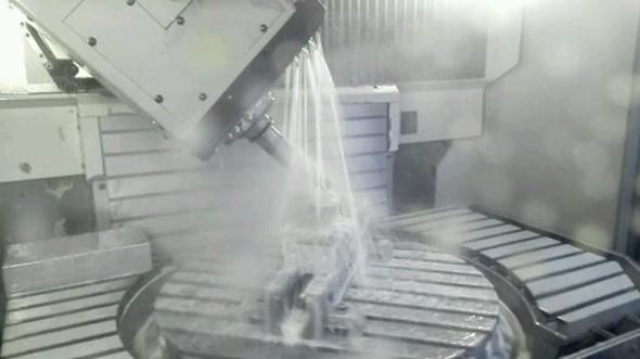 5軸加工のイメージ