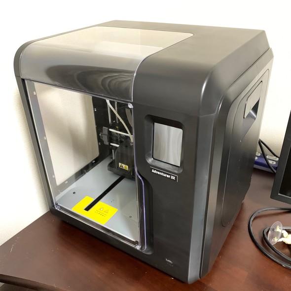 FLASHFORGEのデスクトップ型FDM方式3Dプリンタ「Adventurer3X」